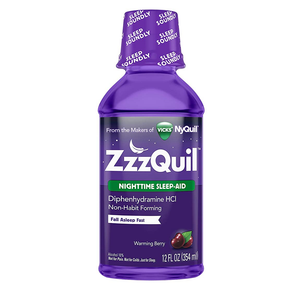ZzzQuil Nighttime Sleep-Aid 354mL