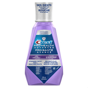 Crest Pro-Health Advanced Anticavity Fluoride Mouthwash 500mL