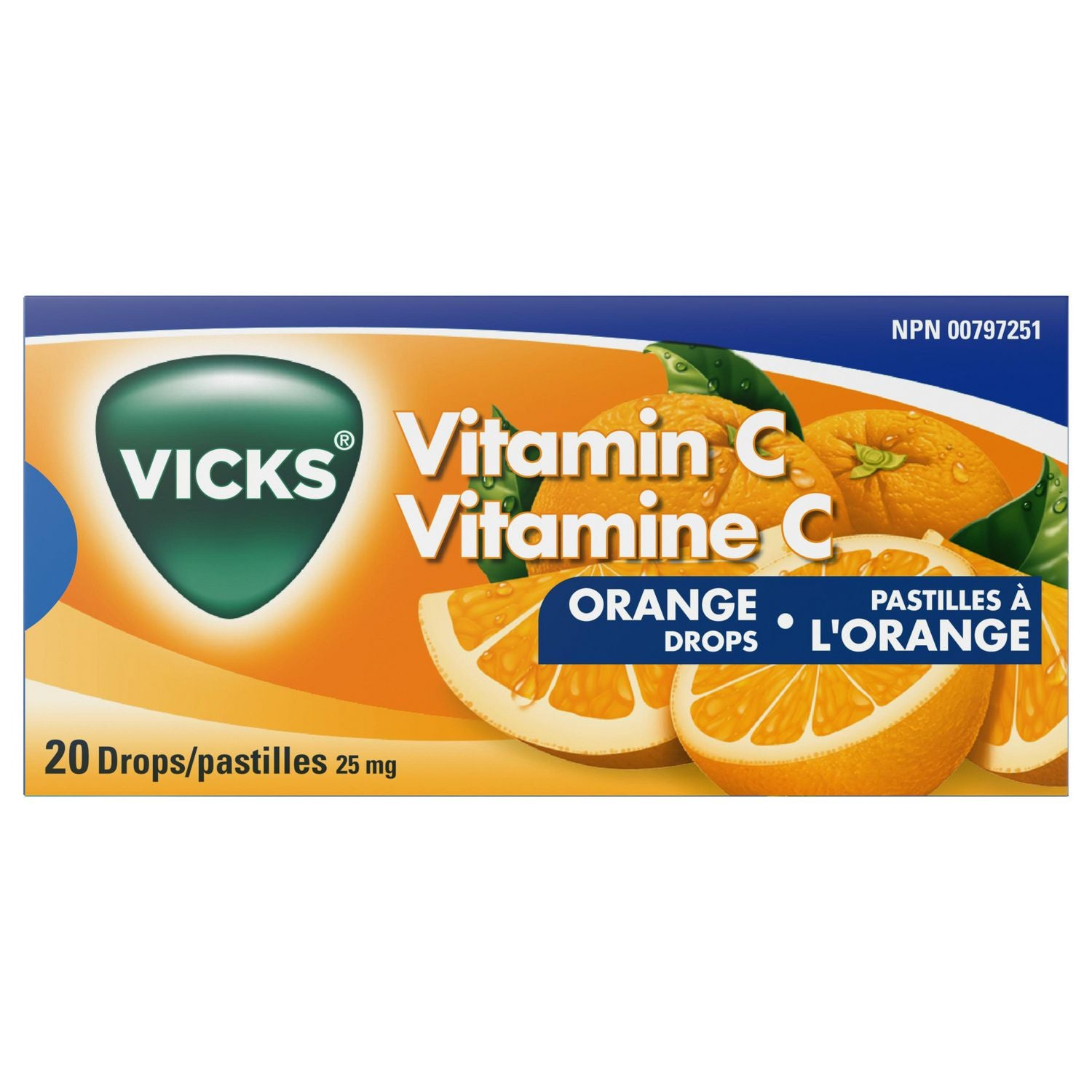 Vicks Vitamin C Orange Drops 20 Drops
