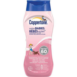Coppertone WaterBabies Sunscreen Lotion SPF60 237mL