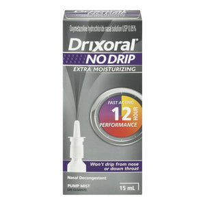 Drixoral No Drip Extra Moisturizing 15mL