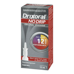 Drixoral No Drip Original Unscented 15mL