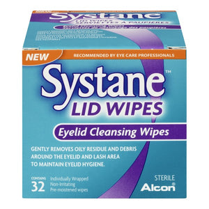 Systane Lid Wipes 32 Wipes