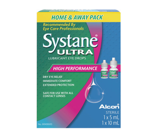 Systane Ultra Lubricant Eye Drops Home & Away Pack