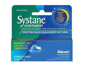 Systane Lubricant Eye Ointment Nighttime Relief 3.5g