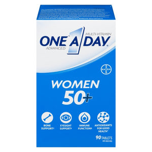 One A Day Advanced Multivitamin Women 50+ 90 Tablets