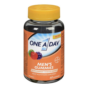 One A Day Multivitamin Men's Gummies 60 Gummies