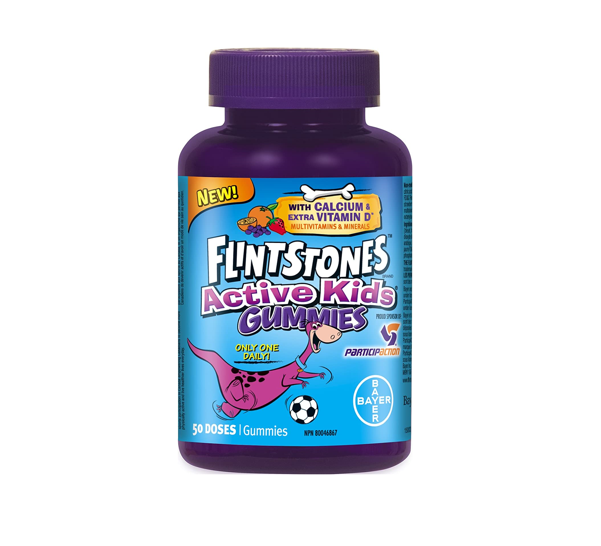 Flintstones Active Kids Multivitamins & Minerals 50 Gummies