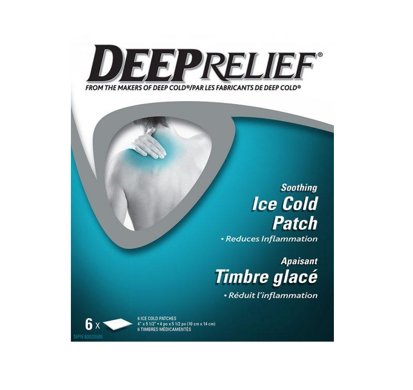 Deep Relief Soothing Ice Cold Patch 6 Patches
