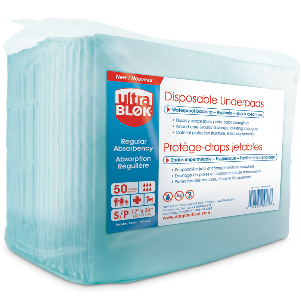 Ultra Blok Disposable Underpads 50