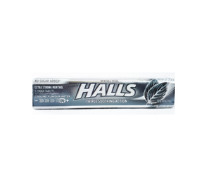 Halls Mentho-Lyptus 9 Cough Tablets Extra Strong Menthol No Sugar Added