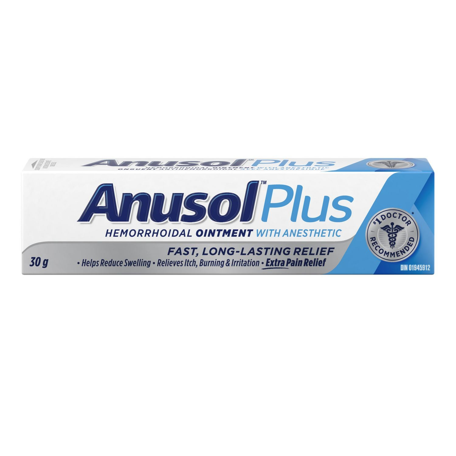 Anusol Plus Hemorrhoidal Ointment with Anesthetic 30g