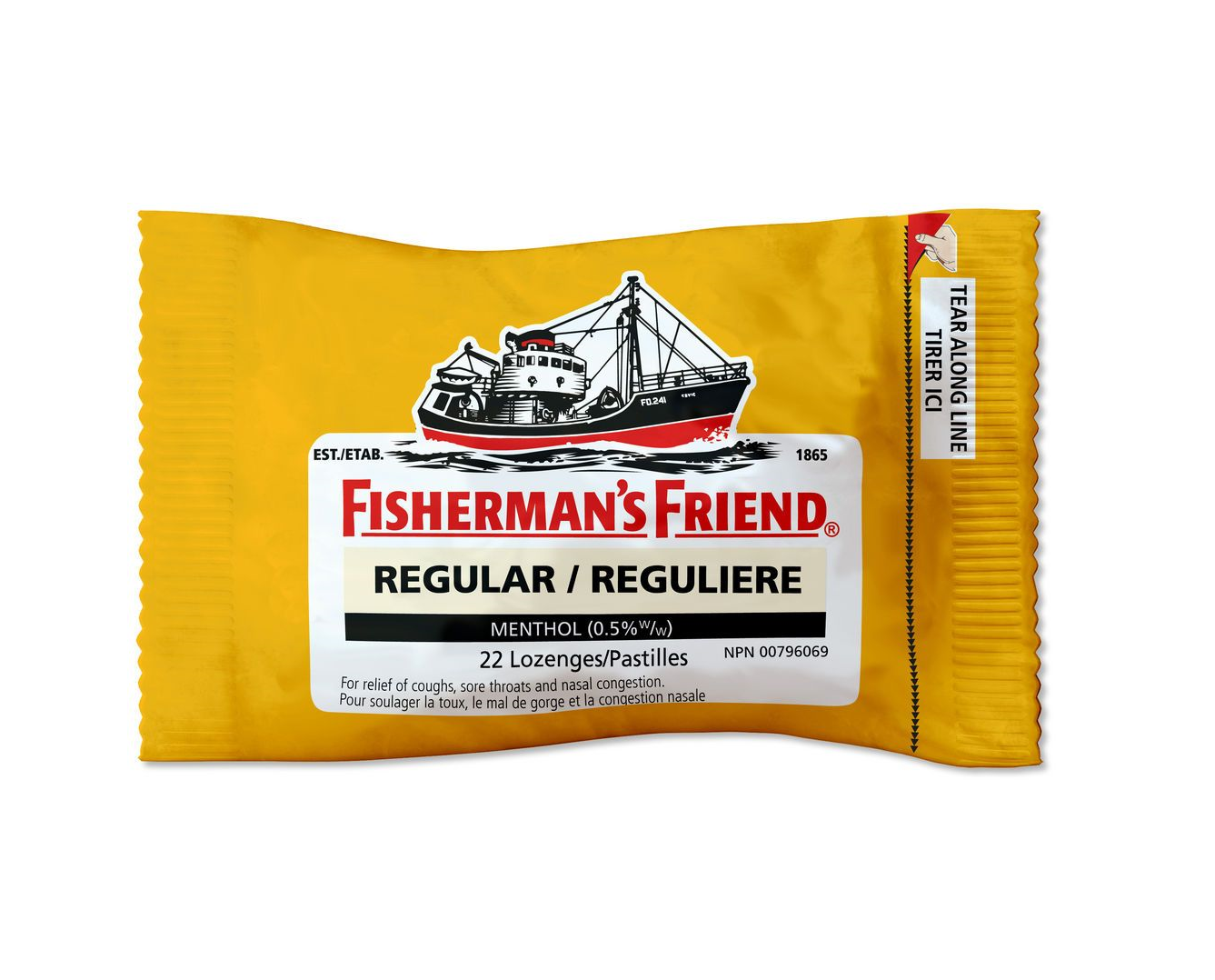 Fisherman's Friend Regular 22 Lozenges