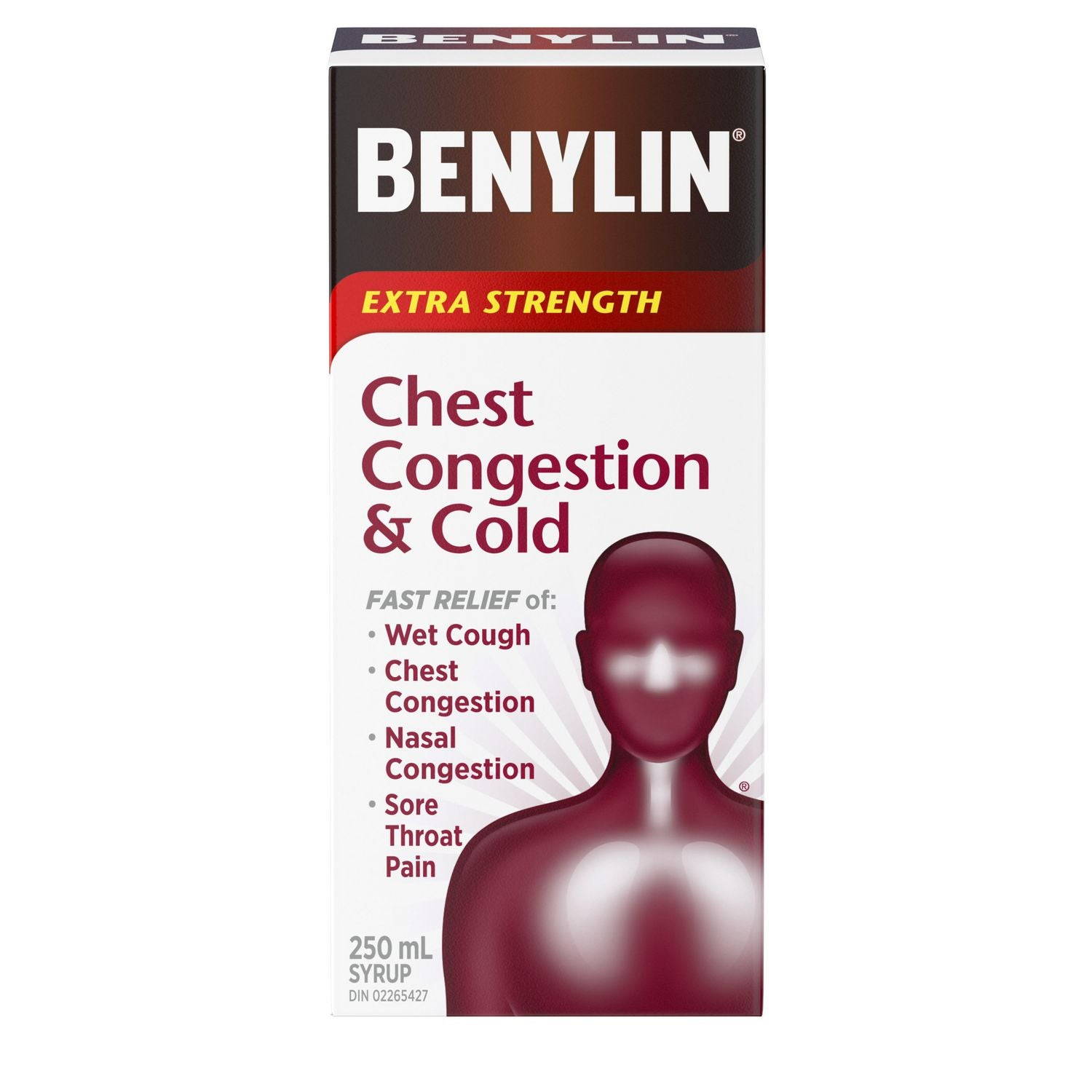 Benylin Chest Congestion & Cold Extra Strength 250mL