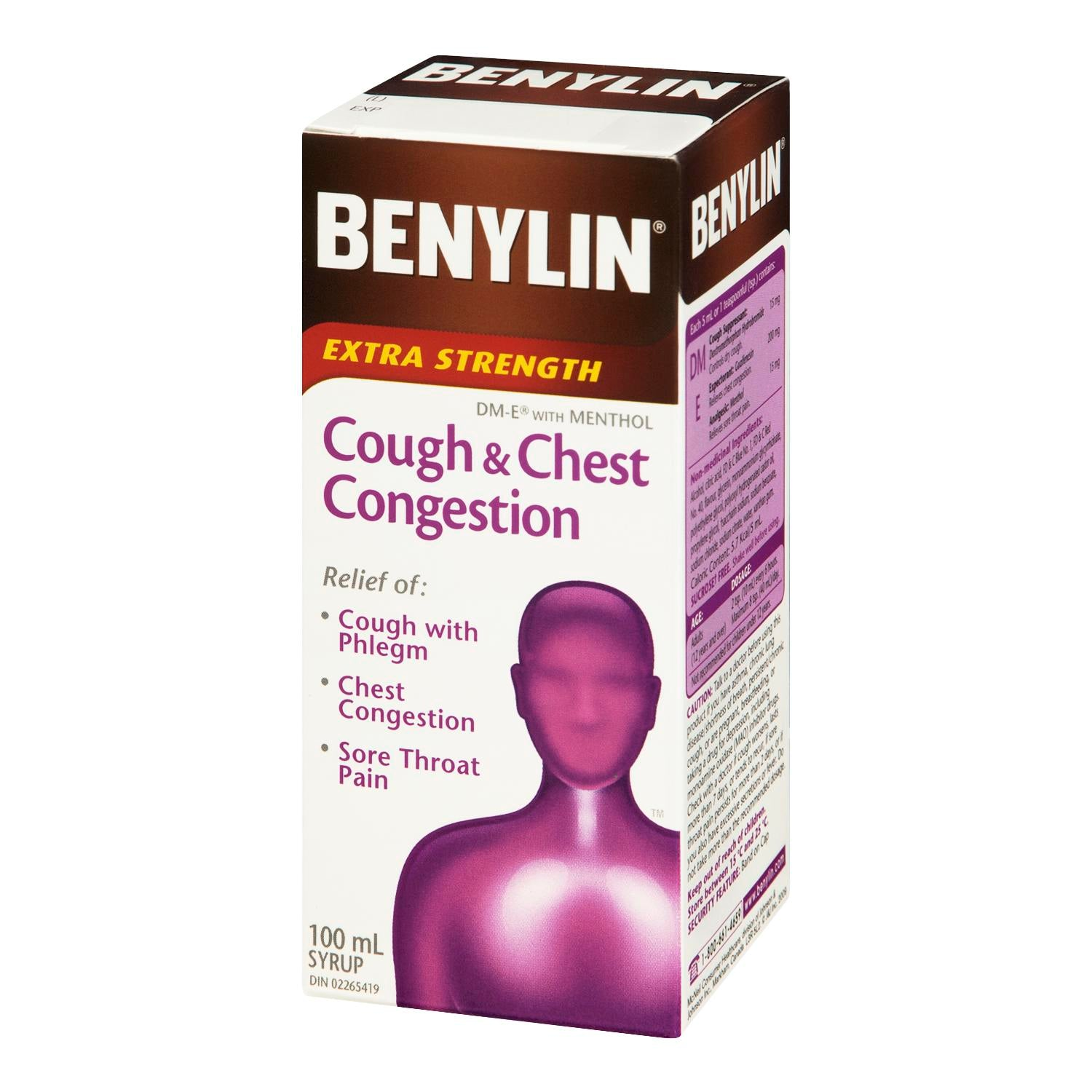 Benylin Cough & Chest Congestion Extra Strength