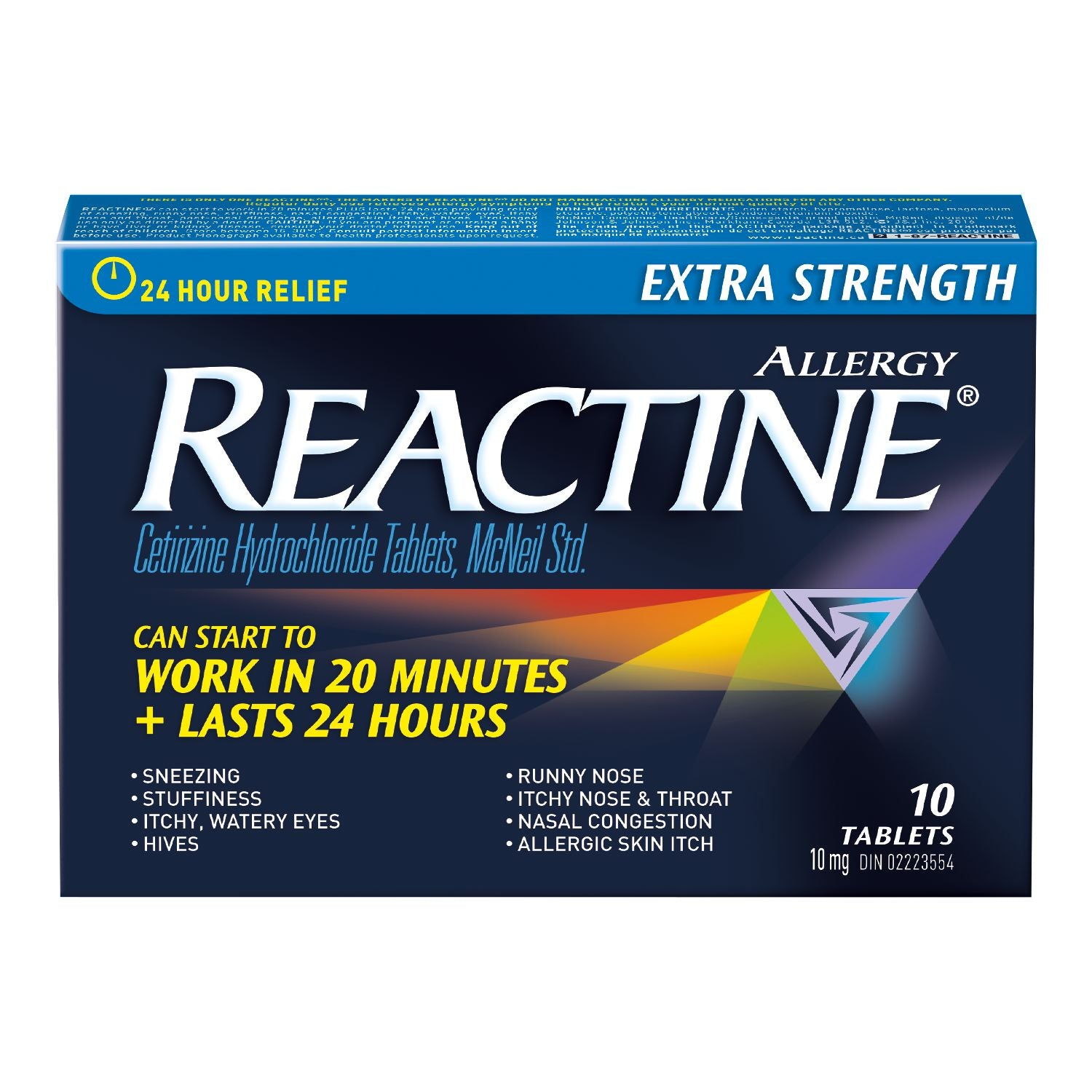 Reactine Allergy Extra Strength Tablets