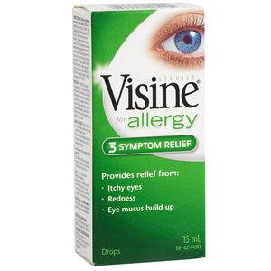 Visine for Allergy 3 Symptom Relief 15mL