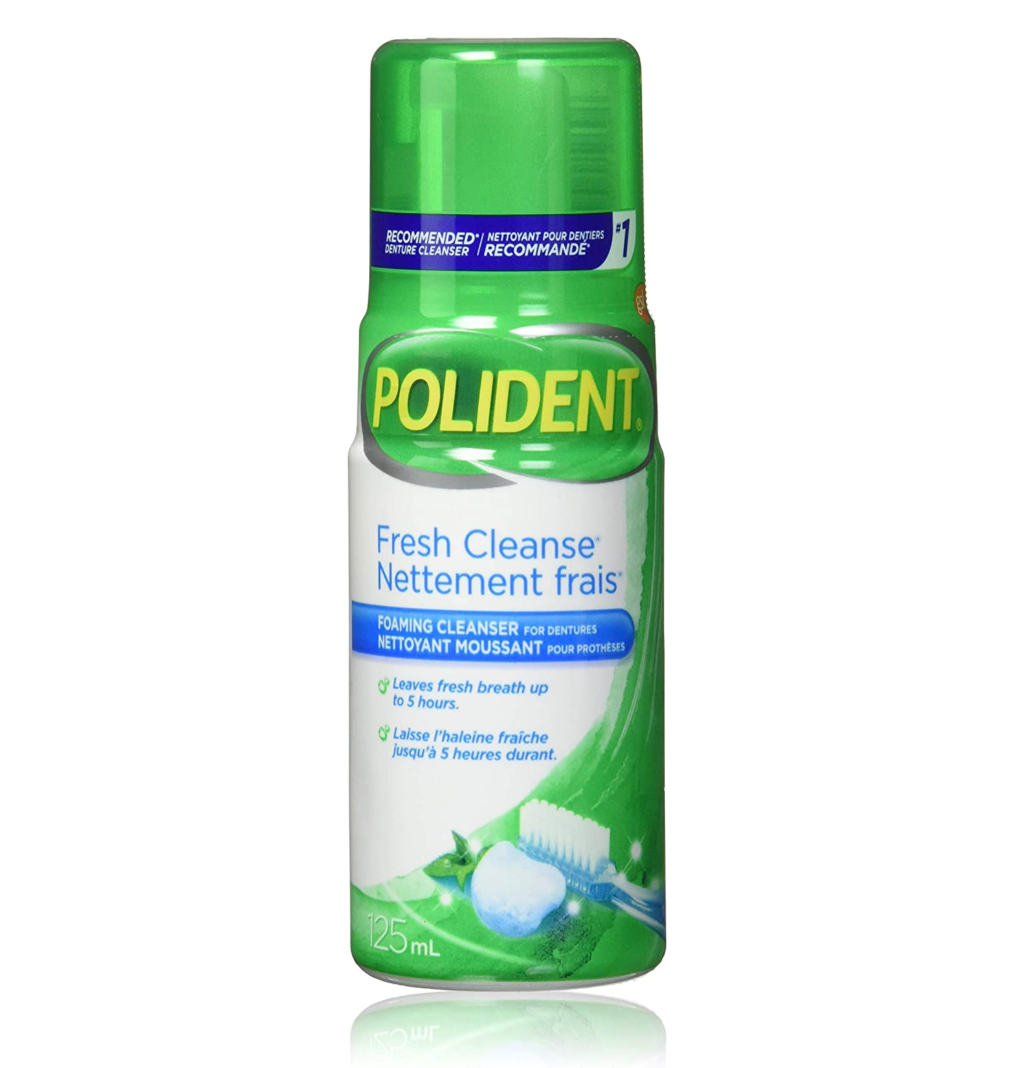 Polident Fresh Cleanse Foaming Cleanser 125mL