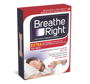 Breathe Right Nasal Strips Extra Tan 8 Tan Strips