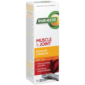 Rub-A535 Regular Strength Heating Cream 50g