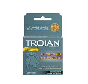 Trojan Ultra Thin 3 Latex Condoms