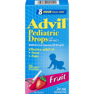 Advil Pediatric Drops for Infants 24mL Fruit