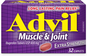 Advil Extra Strength Muscle & Joint 400mg 72 Caplets