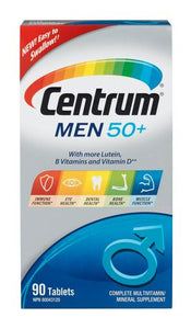 Centrum Men 50+ Multivitamin 90Tablets