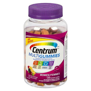 Centrum Multivitamins Multigummies Women 130 Gummies