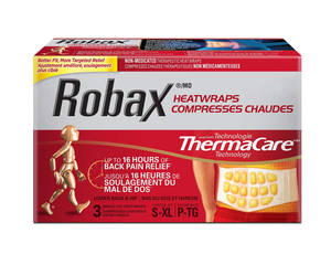 Robax Heatwraps 3 Lower Back & Hip Heat Wraps