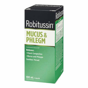 Robitussin Mucus & Phlegm Syrup