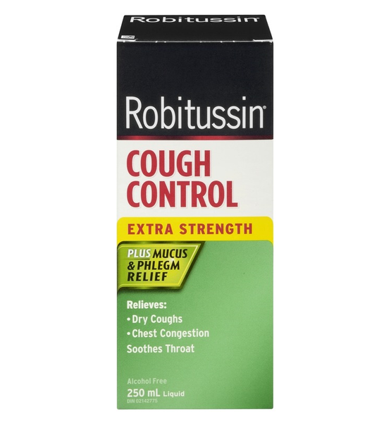 Robitussin Cough Control Plus Mucus & Phlegm Relief Extra Strength