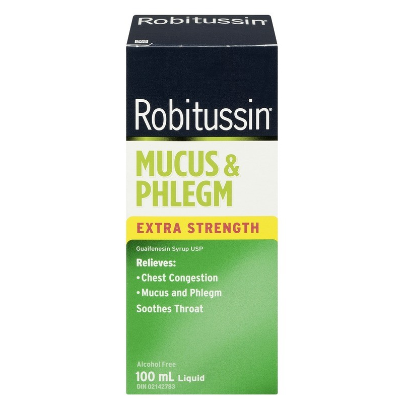 Robitussin Mucus & Phlegm Extra Strength Syrup 100mL