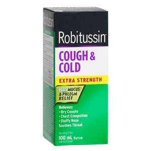 Robitussin Cough & Cold Plus Mucus & Phlegm Relief Extra Strength