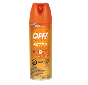 Off! Active Insect Repellent Pressurized Spray 170g