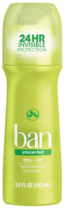 Ban Roll-On Antiperspirant Deodorant 100mL