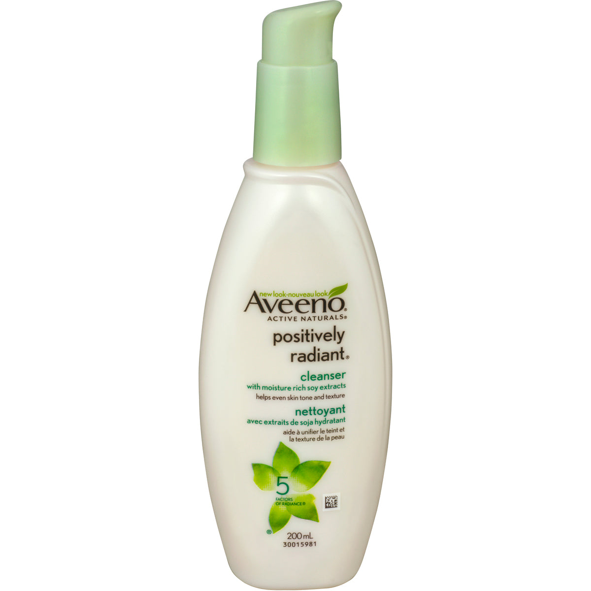 Aveeno Active Naturals Positively Radiant Cleanser 200mL