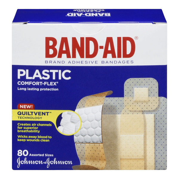Band-Aid Sheer Strips Assorted Sizes