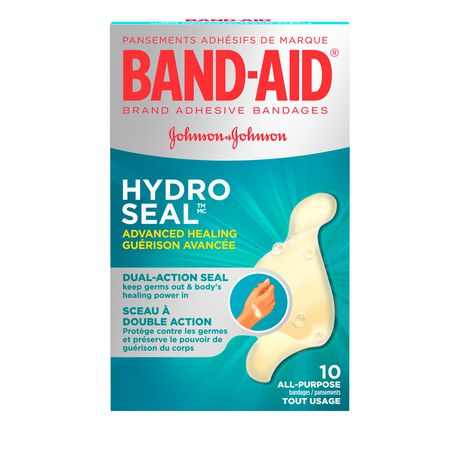 Band-Aid Advanced Healing Cuts & Scrapes Bandages 10