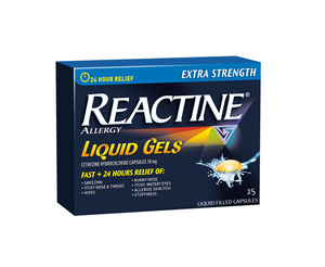 Reactine Allergy Extra Strength Liquid Gels