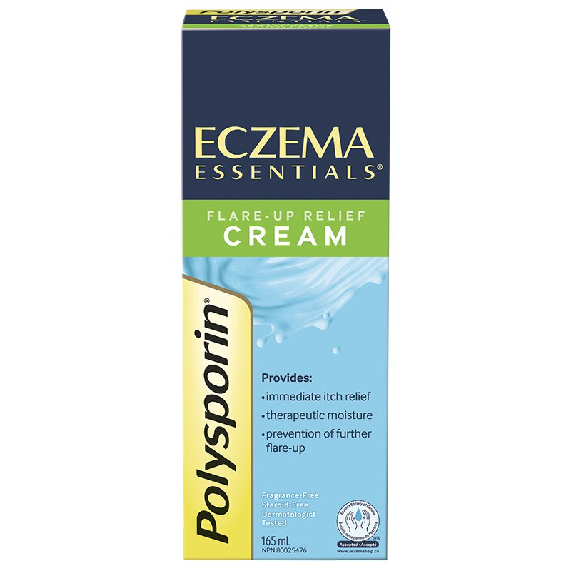 Polysporin Eczema Essentials Flare-Up Relief Cream 165mL