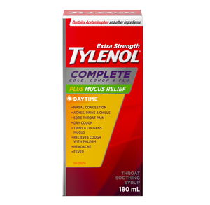 Tylenol Complete Cold, Cough & Flu Plus Mucus Relief Extra Strength