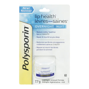 Polysporin Visible Lip Health Overnight Renewal Therapy 7.7g