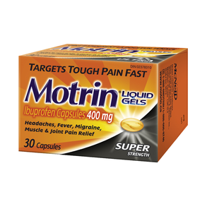 Motrin Super Strength Liquid Gel Capsules