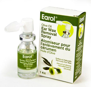 Earol Olive Oil Ear Wax Removal Spray 1 Kit