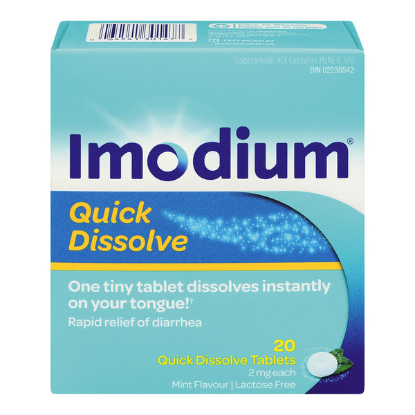 Imodium Quick Dissolve Tablets 2mg