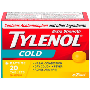 Tylenol Cold Daytime Extra Strength EZTabs