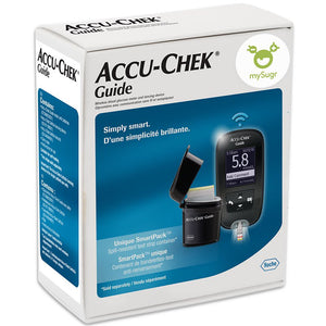 Accu-Chek Guide Wireless Blood Glucose Meter and Lancing Device