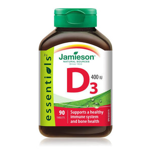 Jamieson Vitamin D 400IU 90 Tablets