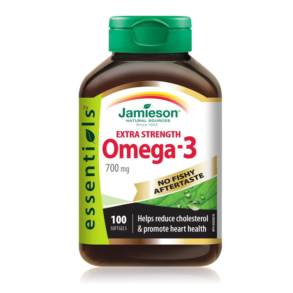 Jamieson Omega-3 700mg 100 Softgels